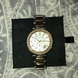 lightly worn Michael's Kort's watch!
